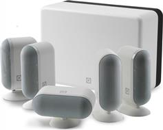 Q-Acoustics 7000i Slim 5.1 White Gloss Cinema Pack