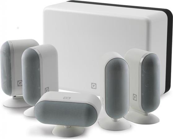 Σετ Ηχείων Home CinemaQ-Acoustics7000i 5.1 White Gloss Cinema Pack