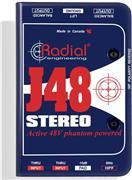 Radial J-48-Stereo Active DI Box