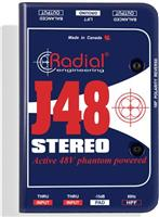 Radial J-48-Stereo Active DI Box