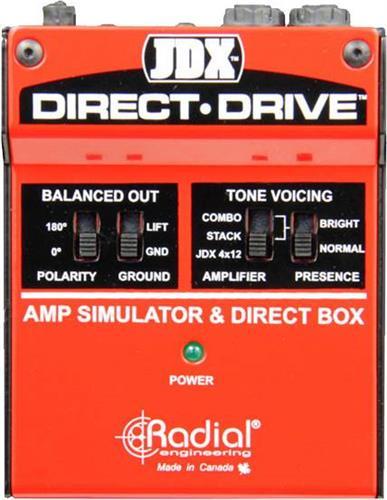 Εφέ & ΠετάλιαRadialJDX Direct Drive Active Di Box