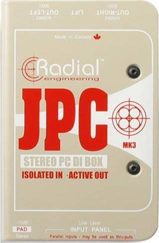 Εφέ & ΠετάλιαRadialJPC Active Di Box