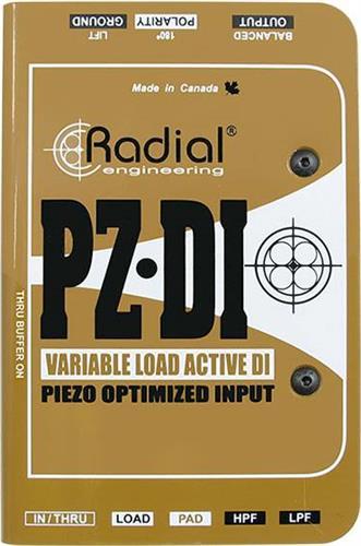 Εφέ & ΠετάλιαRadialPZ-DI Active DI Box
