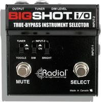 Radial Tonebone Big Shot I/O Instrument Selector