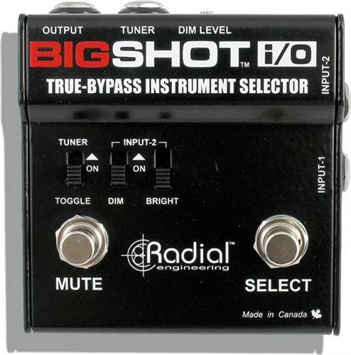 Εφέ & ΠετάλιαRadialTonebone Big Shot I/O Instrument Selector