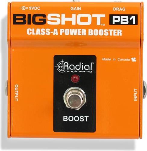 Εφέ & ΠετάλιαRadialTonebone Big Shot PB1 Power Booster