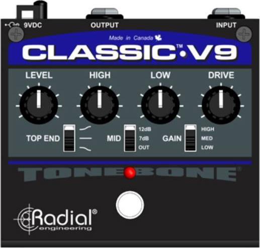 Εφέ & ΠετάλιαRadialTonebone Classic V9 Distortion