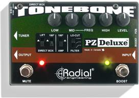 Radial Tonebone PZ Deluxe Acoustic Preamp