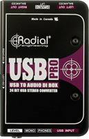 Radial USB-PRO Active Di Box Stereo