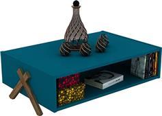 Rafevi Kipp Πετρόλ-Καρυδί 93,5x60,5x28,5