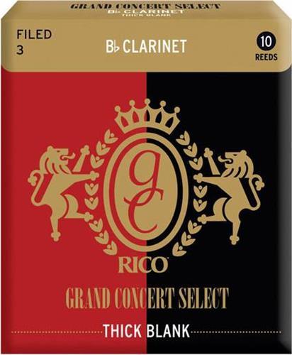 ΚαλάμιαRicoGrand Concert Thick Κλαρίνου Bb Νο. 3 1 τεμ.