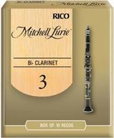 Rico Mitchell Lurie Premium Κλαρινέτου Bb Νο.3 1/2 τεμ.