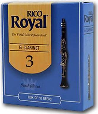 Rico ROYAL Kαλάμια Κλαρινέτου Bb Νο.3 1 τεμ.