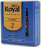 Rico ROYAL Κλαρινέτου Bb No.2 1 τεμ.