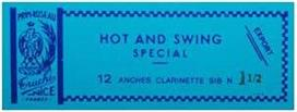Rigotti Hot & Swing Κλαρίνου N.1 1/2