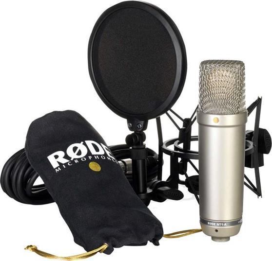 Ενσύρματο ΜικρόφωνοRodeNT-1A Bundle Mικρoφώνου