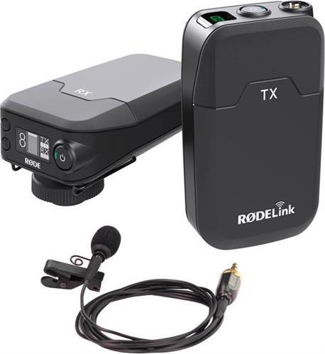 Ασύρματο ΜικρόφωνοRodeRodelink-Filmmaker Σετ Πέτου για Kάμερα