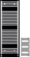 Runtal ECS 120-050 Λευκό