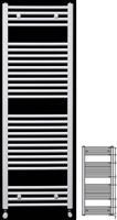 Runtal ECS 120-060 Λευκό