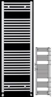 Runtal ECS 180-050 Λευκό
