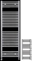 Runtal ECSC 120-045 Επιχρωμιωμένο