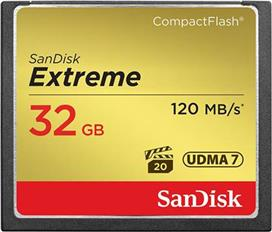 Sandisk Extreme 32GB 120/85MBs