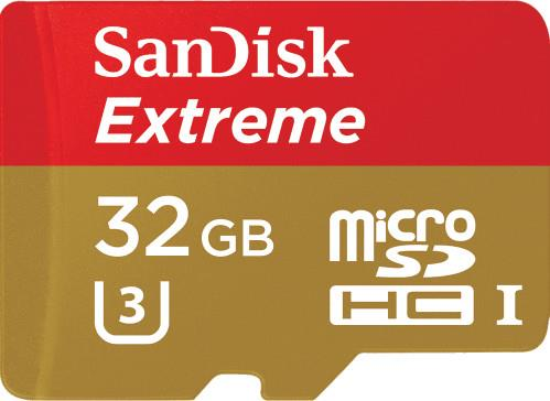 Secure Digital ΜνήμηSandiskExtreme 32GB SDSQXNE-032G-GN6AA