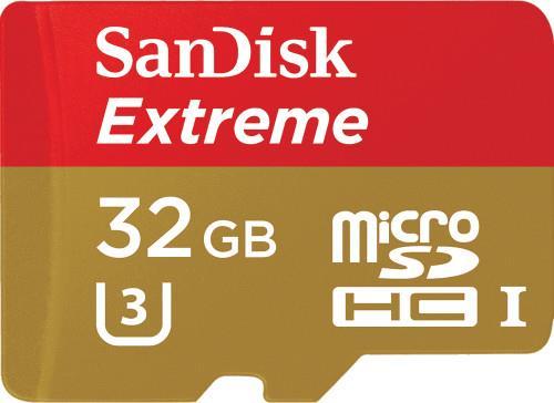 Secure Digital ΜνήμηSandiskExtreme 32GB SDSQXNE-032G-GN6MA