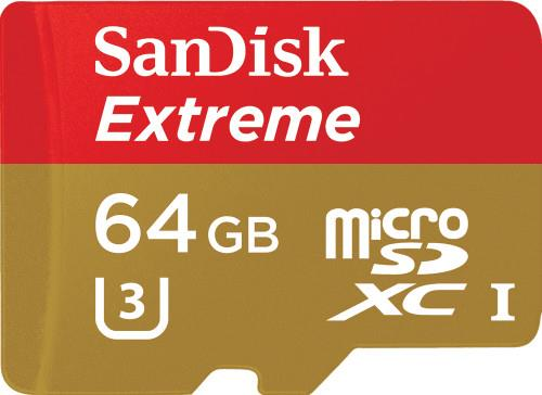 Secure Digital ΜνήμηSandiskExtreme 64GB SDSQXNE-064G-GN6AA
