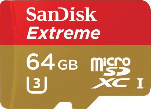 Secure Digital ΜνήμηSandiskExtreme 64GB SDSQXNE-064G-GN6MA