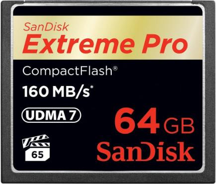 Compact Flash Sandisk Extreme Pro 64GB