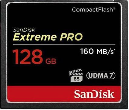 Compact FlashSandiskSDCFXPS-128G-X46 Extreme Pro CF 128 GB