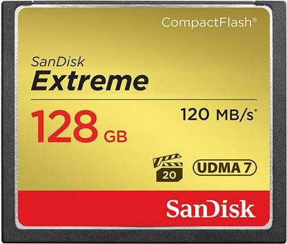 Compact Flash Sandisk SDCFXSB-128G-G46 Extreme