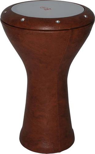 ΤουμπελέκιSAZ370A-BRO Αιγυπτιακό Καφέ Δέρμα