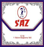 SAZ 651A Xορδές για Σάζι/Ταμπουρά 0,18