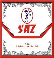 SAZ 651Β Xορδές για Σάζι/Ταμπουρά 0,20