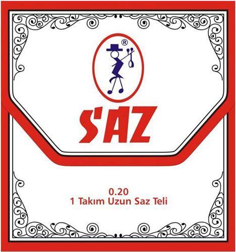 ΧορδέςSAZ651Β Xορδές για Σάζι/Ταμπουρά 0,20