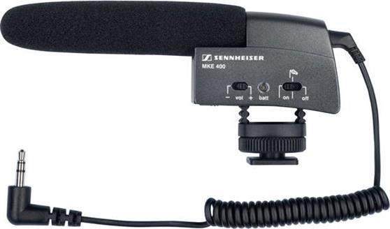 Ενσύρματο ΜικρόφωνοSennheiserMKE-400