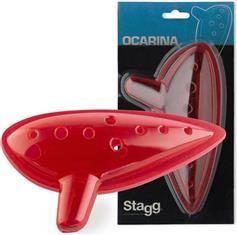 Stagg OCA-PL Πλαστική Κόκκινη