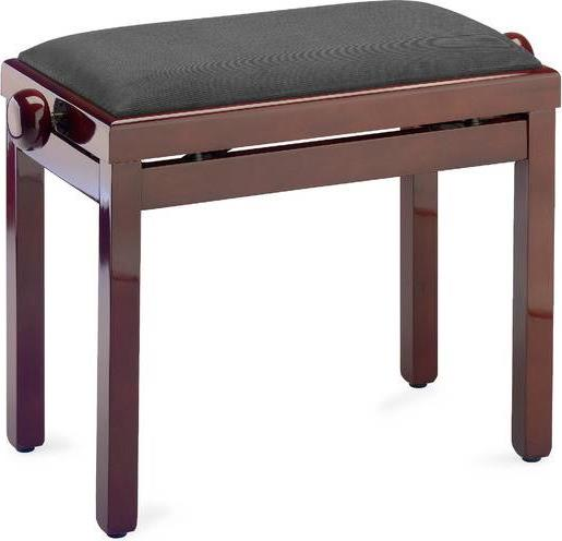 Κάθισμα ΠιάνουStaggPB39 MHP VBR Ρυθμιζόμενο Σκούρο Μαόνι Γυαλιστερό