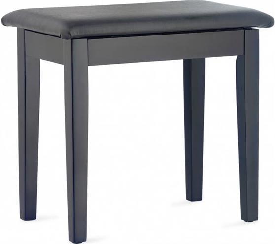 Κάθισμα ΠιάνουStaggPBF23 BKM SBK Μαύρο Ματ Vinyl Top