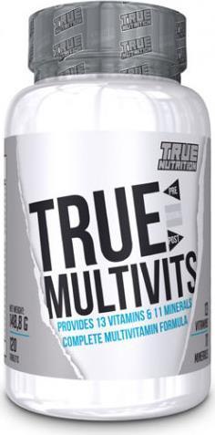 Συμπλήρωμα ΔιατροφήςTrue NutritionTrue Multivits 120tabs