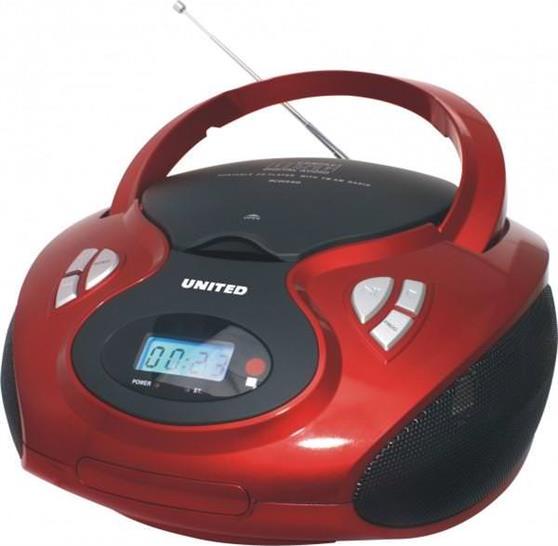 Φορητό CD playerUnitedRCD 1340