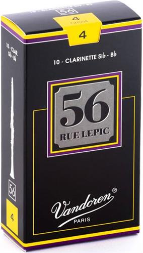 ΚαλάμιαVandoren56 Rue Lepic Κλαρινέτου Bb No.4 Τεμ.