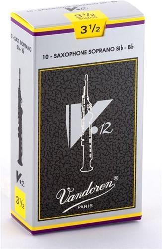 ΚαλάμιαVandorenV12 Σοπράνο Σαξοφώνου Νο 3 1/2 Τεμ.