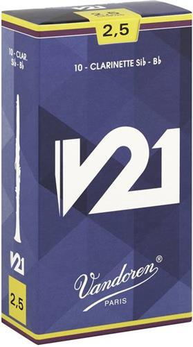 ΚαλάμιαVandorenV21 Καλάμια Κλαρινέτου Bb No.2 1/2 (1 τεμ)