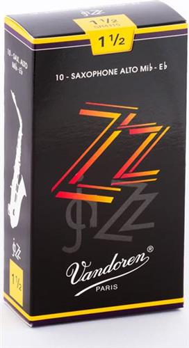 ΚαλάμιαVandorenZZ Jazz 'λτο Σαξοφώνου Νο. 1 1/2 Τεμ.