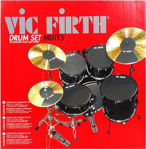 Practice Pads/Drum MutesVic FirthΣέτ Λάστιχων Μελέτης (14-12-13-16-22)