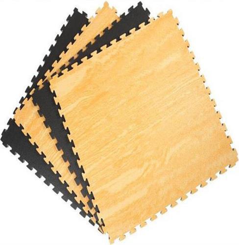 ΣτρώμαVikingEva Foam Xρώμα Ξύλου 100x100x2,5cm