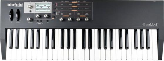 SynthesizerWaldorfBlofeld Virtual Analog Keyboard Μαύρο